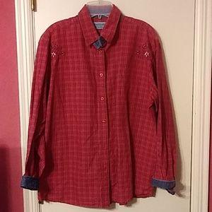 Wrangler Blues Western Shirt